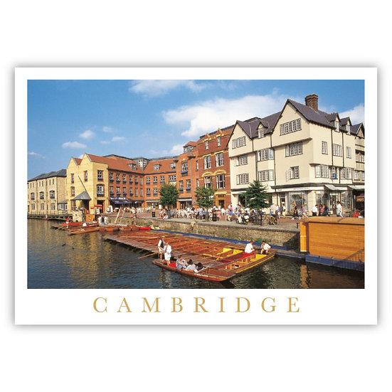 Cambridge River - Sold in pack (100 postcards)