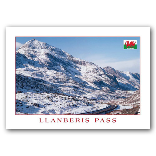 Llanberis Pass - Sold in pack (100 postcards)