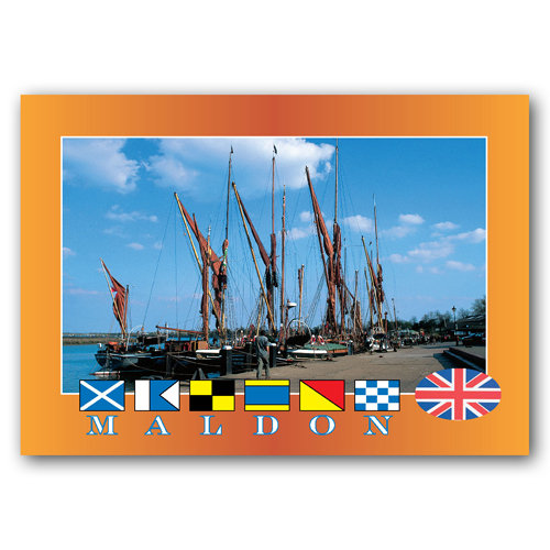 Maldon - Sold in pack (100 postcards)