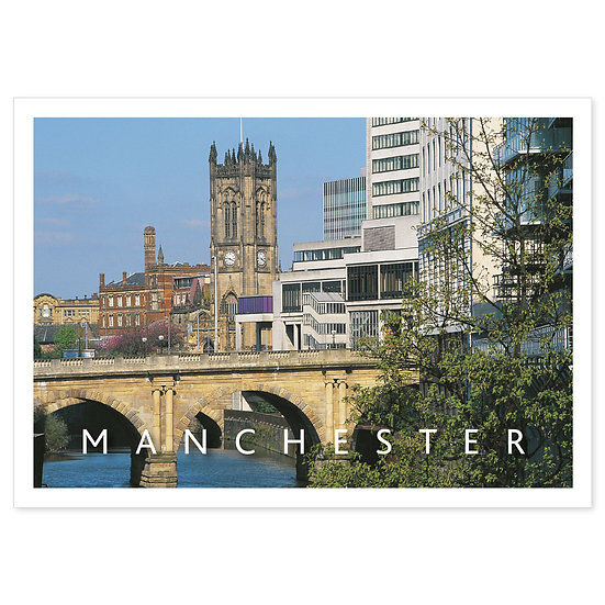 Manchester - Sold in pack (100 postcards)