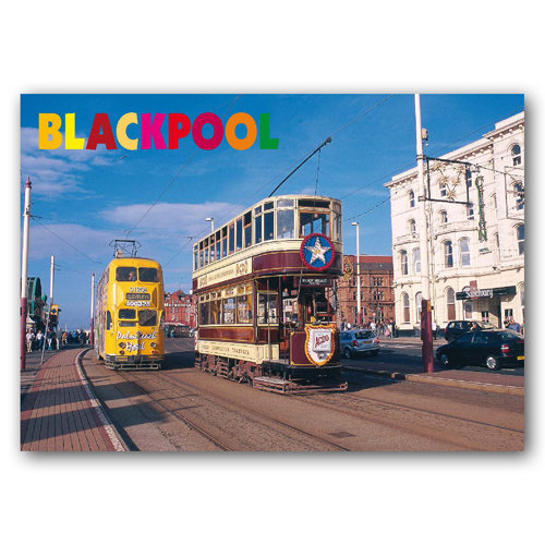 Blackpool - Ancient & Modern - Sold in pack (100 postcards)
