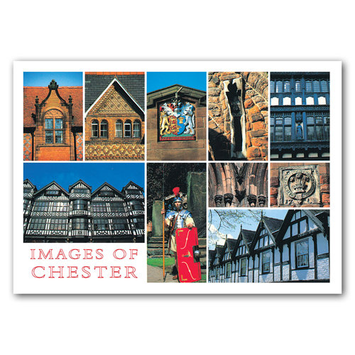 Chester Images Of - Sold in pack (100 postcards)