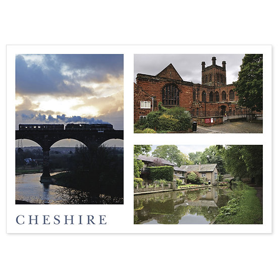 Cheshire Comp - Sold in pack (100 postcards)