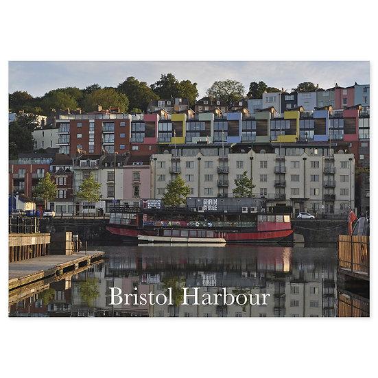 Bristol Harbour - Sold in pack (100 postcards)