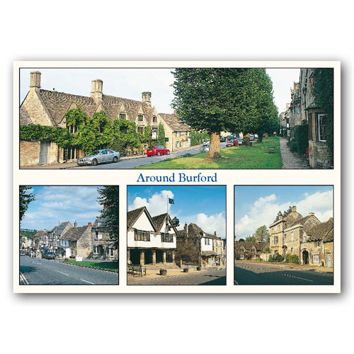Burford Around Comp - Sold in pack (100 postcards)