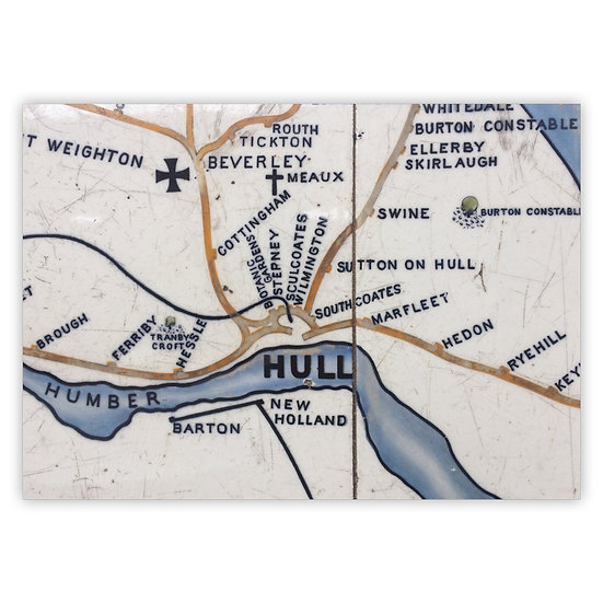 Beverley Map - Sold in pack (100 postcards)