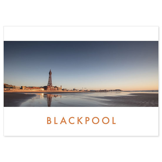 Blackpool, Lancashire - Sold in pack (100 postcards)