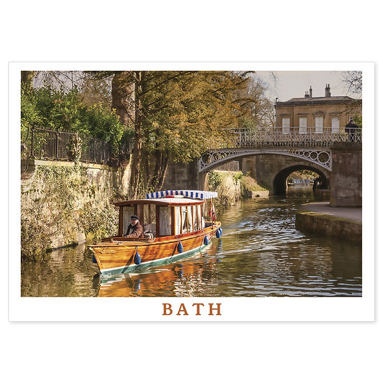 Bath Canal - Sold in pack (100 postcards)