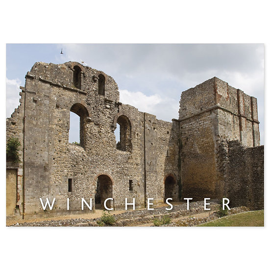 Winchester Wolvesey Castle - Sold in pack (100 postcards)