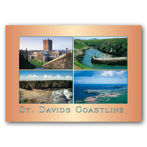 St Davids Coastline - Sold in pack (100 postcards)