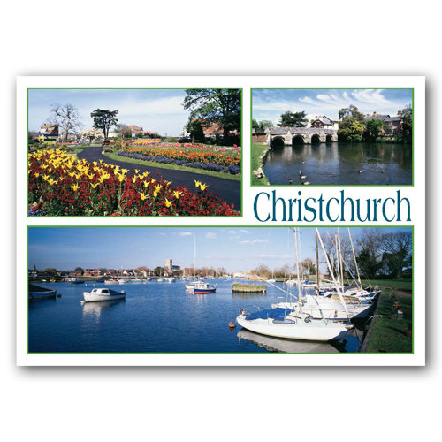 Christchurch Comp - Sold in pack (100 postcards)