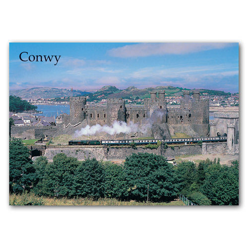 Conwy - Sold in pack (100 postcards)