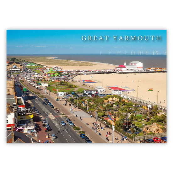 Great Yarmouth, Marina Parade - Sold in pack (100 postcards)