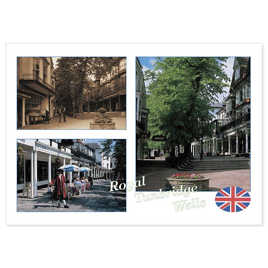 Tunbridge Wells Royal - Sold in pack (100 postcards)