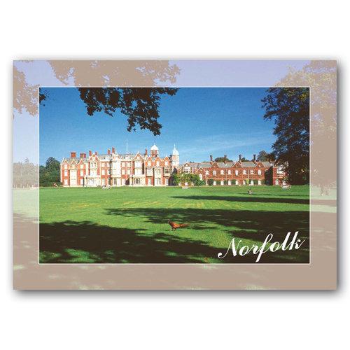 Sandringham House Norfolk - Sold in pack (100 postcards)