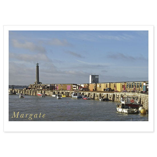Margate Harbour Arm - Sold in pack (100 postcards)