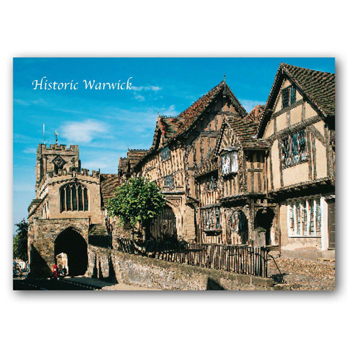 Warwick - Sold in pack (100 postcards)