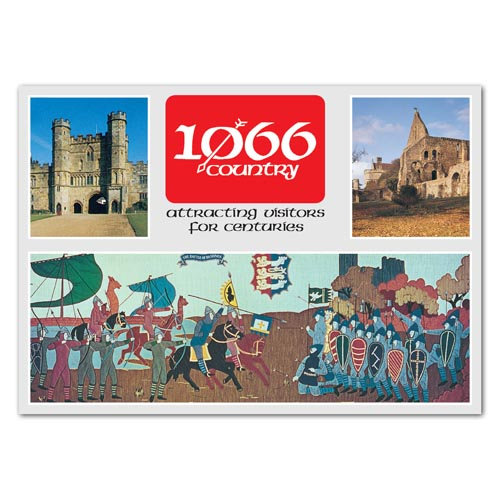 Battle 1066 Country - Sold in pack (100 postcards)