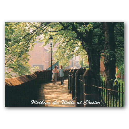 Chester Walking The Walls - Sold in pack (100 postcards)