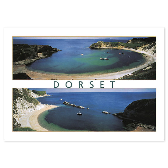 Dorset Coves Of - Sold in pack (100 postcards)