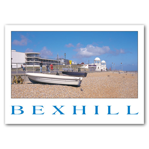 Bexhill Seafront - Sold in pack (100 postcards)