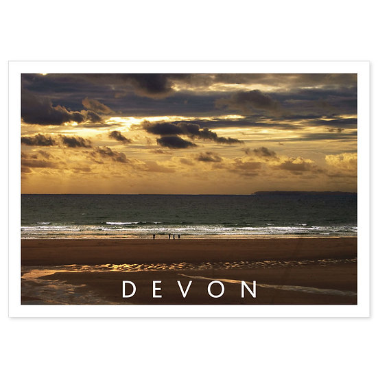 Croyde North Devon - Sold in pack (100 postcards)