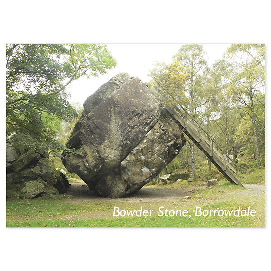 Borrowdale Bowder Stone - Sold in pack (100 postcards)