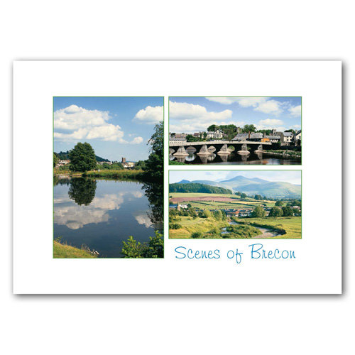 Brecon - Sold in pack (100 postcards)