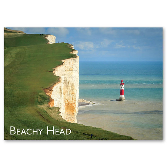 Eastbourne, Chalk cliff at Beachy Head - Sold in pack (100 postcards)