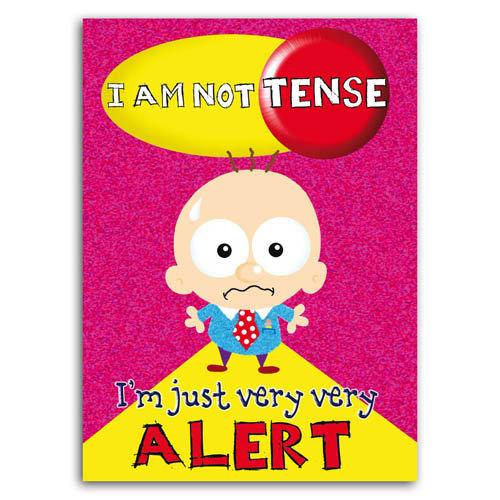 Little Devils - I'm Not Tense - Sold in pack (100 postcards)