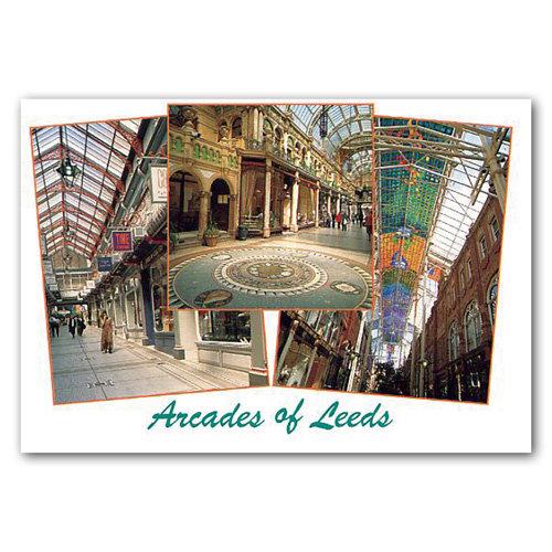 Leeds Arcades - Sold in pack (100 postcards)