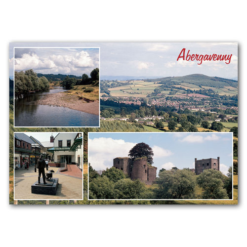 Abergavenny Comp - Sold in pack (100 postcards)