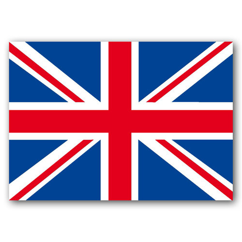 London Union Jack Postcard