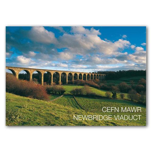 Newbridge Viaduct Cefn Maw - Sold in pack (100 postcards)