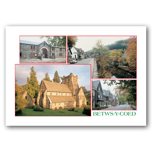 Betws-Y-Coed Comp - Sold in pack (100 postcards)