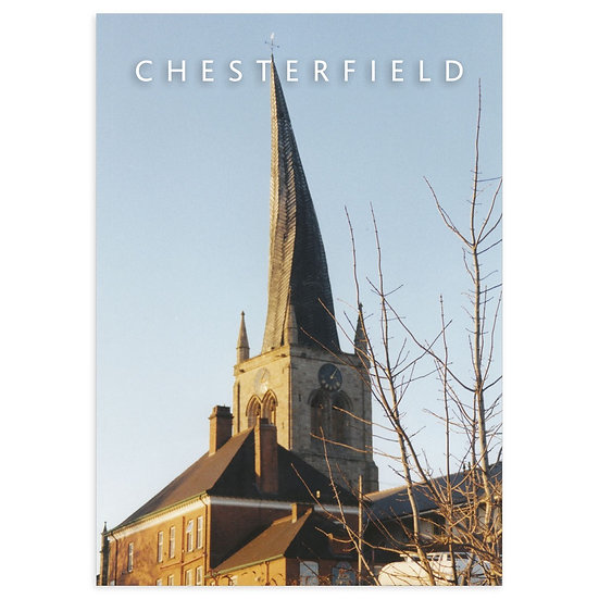 Chesterfield Twisted Spire - Sold in pack (100 postcards)