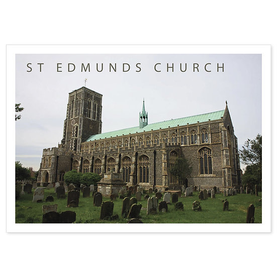 Southwold St Edmunds Church - Sold in pack (100 postcards)