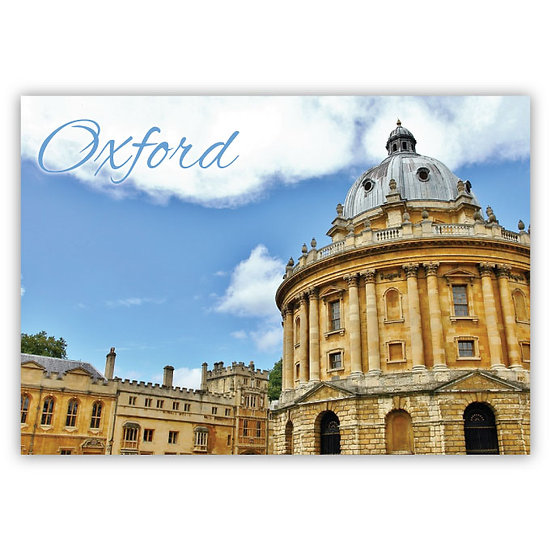 Oxford Bodleian Library - Sold in pack (100 postcards)