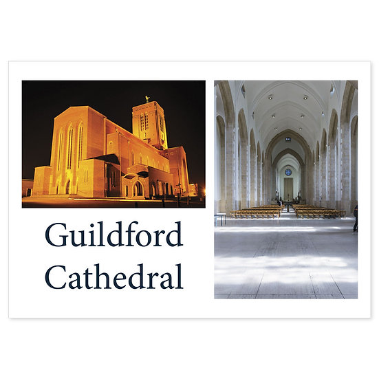 Guildford Cathedral Compilation - Sold in pack (100 postcards)