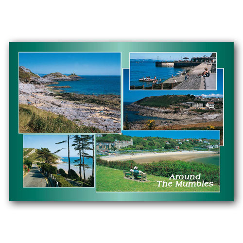 Mumbles Around - Sold in pack (100 postcards)