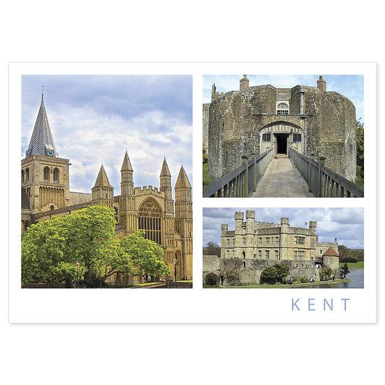 Kent Castles Comp - Sold in pack (100 postcards)