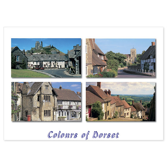 Dorset Just Villages - Sold in pack (100 postcards)