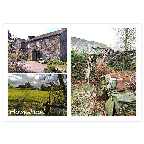 Hawkshead - Sold in pack (100 postcards)