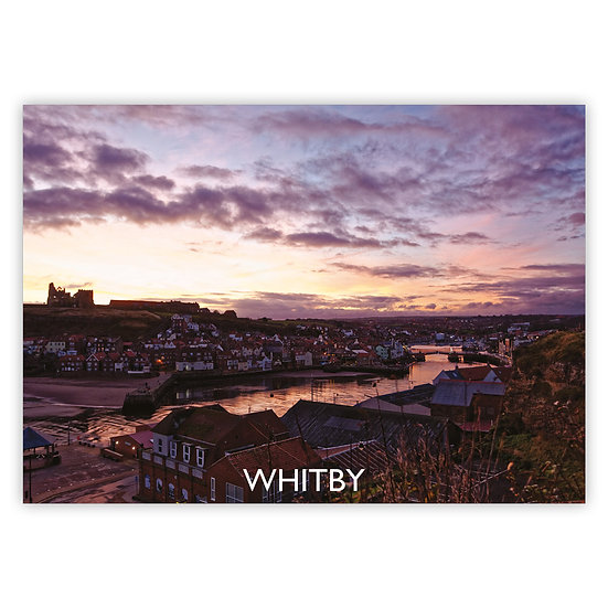 Whitby Night Sky - Sold in pack (100 postcards)