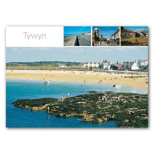 Yywyn View Comp - Sold in pack (100 postcards)