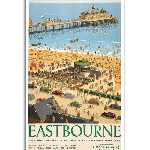 Eastbourne - Sold in pack (100 postcards)