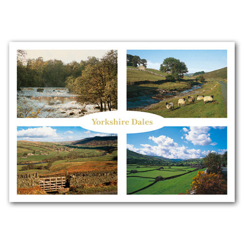Yorkshire Dales Comp - Sold in pack (100 postcards)