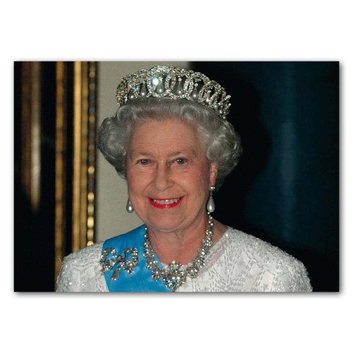 London Royal HRH Queen Elizabeth II - Sold in pack (100 postcards)