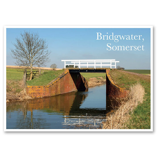 Bridgewater, The Taunton to Bridgewater Canal - Sold in pack (100 postcards)