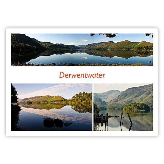 Derwentwater Lake, Compilation - Sold in pack (100 postcards)